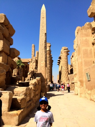 Obelisk from Temple of Karnak