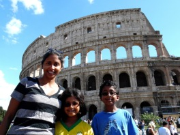 Built around 70 AD, the Roman colosseum is still the largest outdoor amphitheater ever built, September 2015